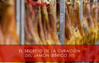 curación del jamón ibérico