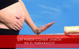 se puede comer jamón ibérico en el embarazo