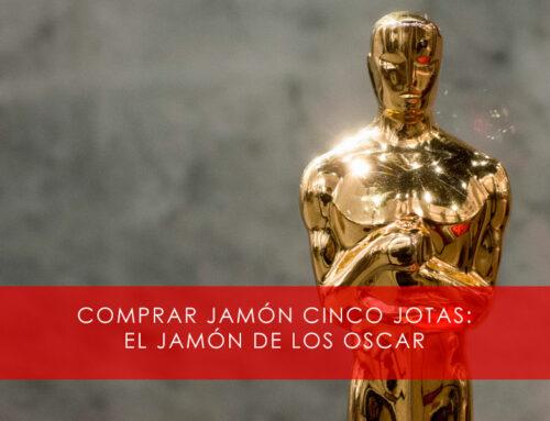 Comprar Jamón Cinco Jotas, un jamón de Óscar