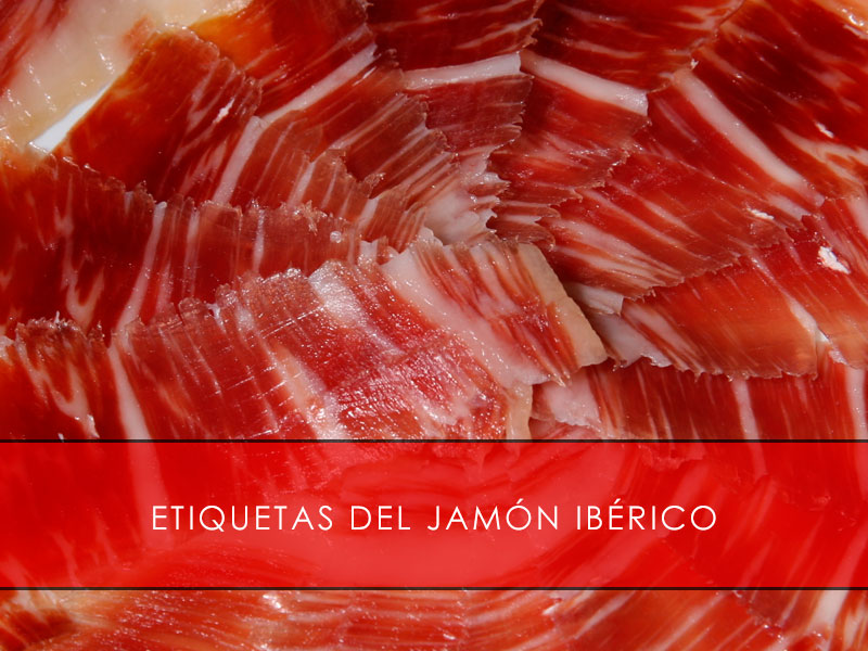 Etiquetas del jamón ibérico