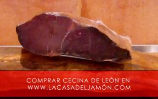 comprar cecina de Leon en www.lacasadeljamon.com