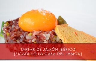 tartar de jamón ibérico