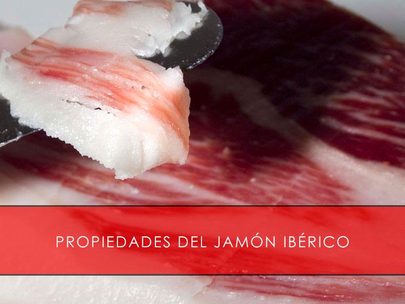 propiedades del jamón ibérico