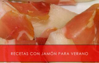 recetas con jamón para verano