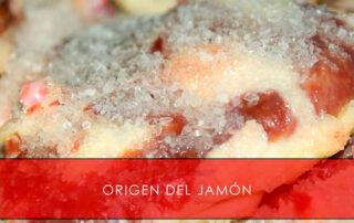 origen del jamón