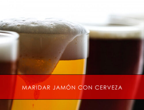 Maridar jamón con cerveza