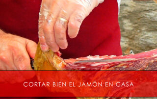 cortar bien el jamón en casa