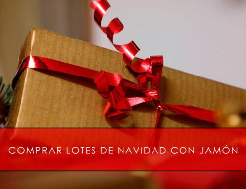 Comprar lotes de Navidad con jamón