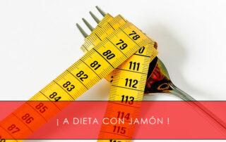 a dieta con jamón