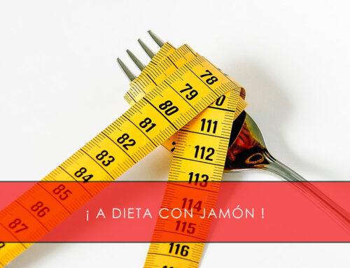 A dieta con jamón ibérico