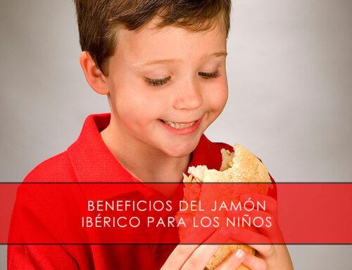 Beneficios del jamón ibérico para los niños