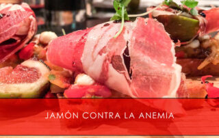 Jamón contra la anemia