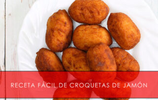 receta fácil de croquetas de jamón La Casa del Jamón