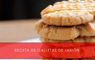 receta de galletas de jamón - La Casa del Jamón