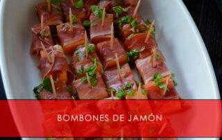 bombones de jamón - La Casa del Jamón