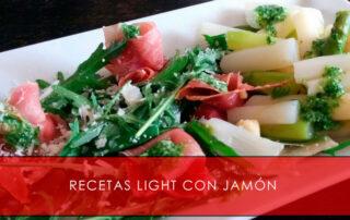 Recetas light con jamón - La Casa del Jamón