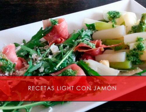 Recetas light con jamón