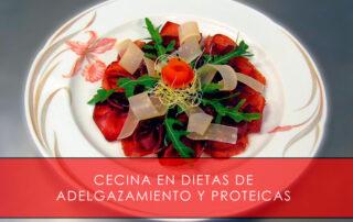 Cecina en dietas de adelgazamiento y proteicas - La Casa del Jamón
