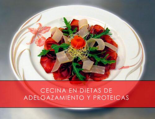 Cecina en dietas de adelgazamiento y proteicas