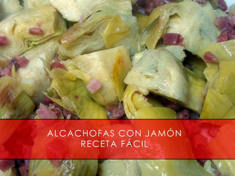 alcachofas con jamón - La Casa del Jamón