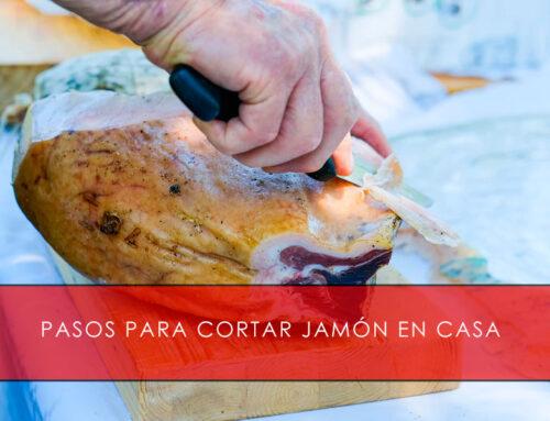 Pasos para cortar jamón en casa