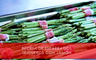 Receta de espárragos trigueros con jamón - La Casa del Jamón