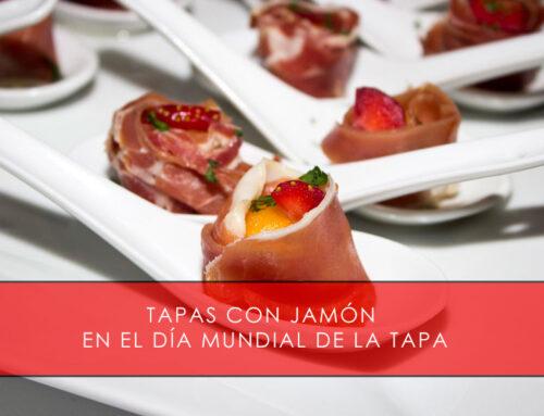 Tapas con jamón en el Día Mundial de la Tapa