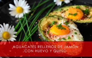 Aguacates rellenos de jamón con huevo y queso - La Casa del Jamón