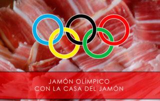 Jamón olímpico con La Casa del Jamón